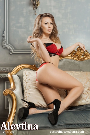 Alevtina, Russian escort who offers company in Barcelona