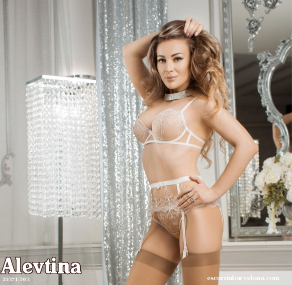 Alevtina, Russian escort who offers dates in Barcelona