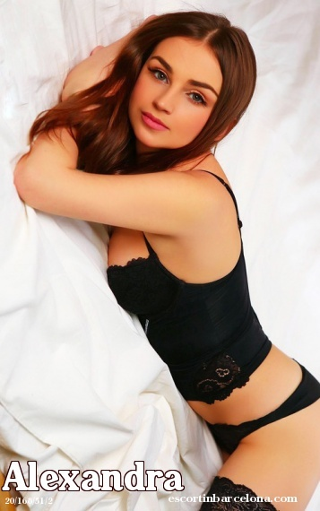 Alexandra, Russian escort who offers oral job in Barcelona