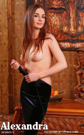 Alexandra, Russian escort who offers massages in Barcelona