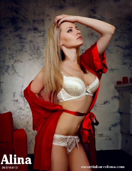Alina, Russian escort who offers girlfriend experience in Barcelona