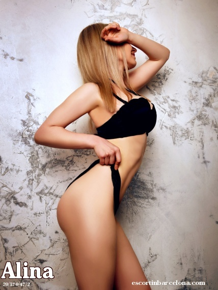 Alina, Russian escort who offers 69 in Barcelona