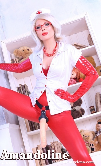 Amandoline, Russian escort who offers oral job in Barcelona