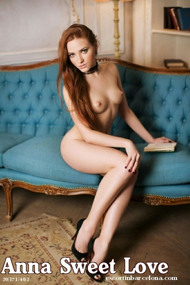 Anna Sweet Love, Russian escort who offers girlfriend experience in Barcelona