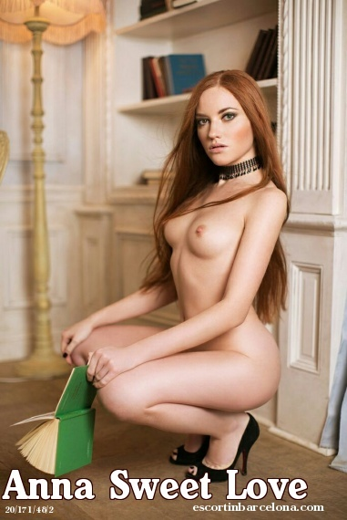 Anna Sweet Love, Russian escort who offers company in Barcelona