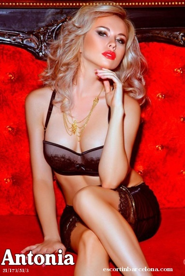 Antonia, Russian escort who offers girlfriend experience in Barcelona