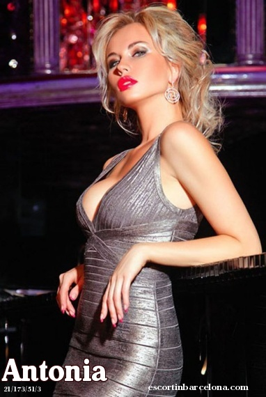 Antonia, Russian escort who offers dates in Barcelona