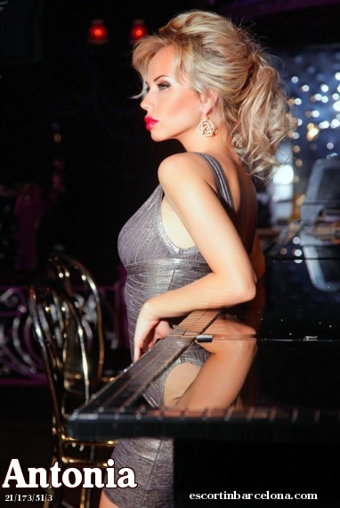 Antonia, Russian escort who offers oral job in Barcelona