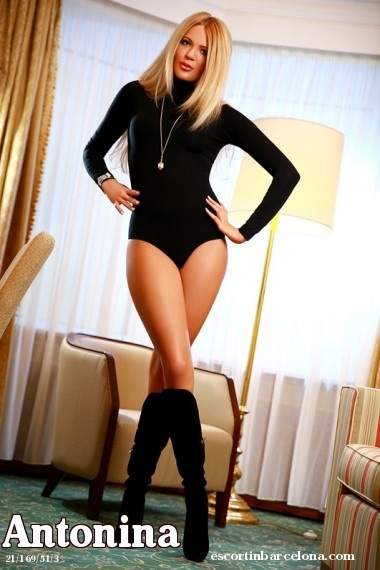 Antonina, Russian escort who offers massages in Barcelona