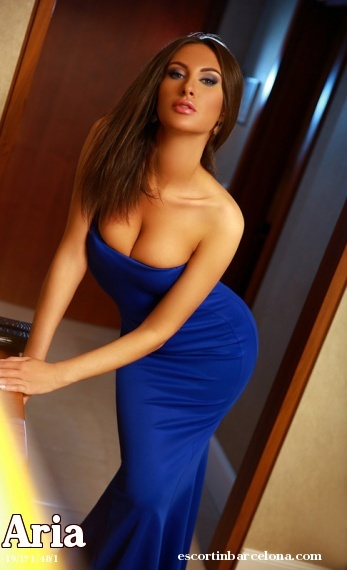 Aria, Russian escort who offers massages in Barcelona
