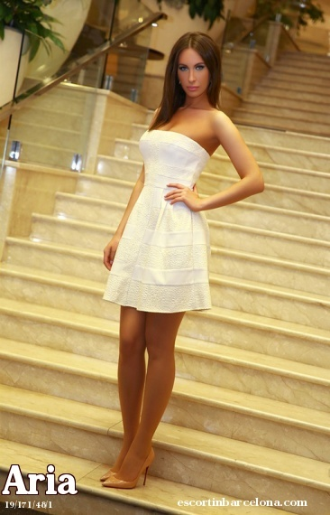 Aria, Russian escort who offers dates in Barcelona