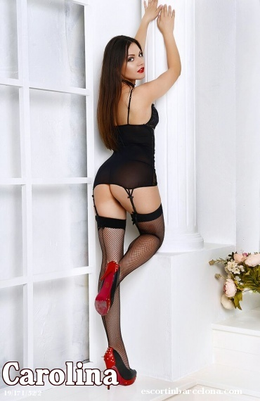 Carolina, Russian escort who offers massages in Barcelona