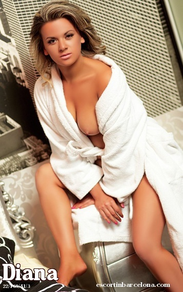 Diana, Russian escort who offers dates in Barcelona