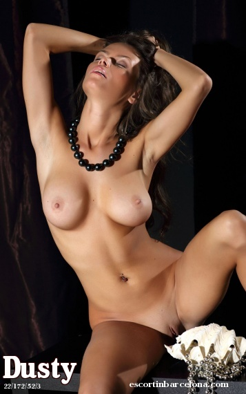 Dusty, Russian escort who offers massages in Barcelona