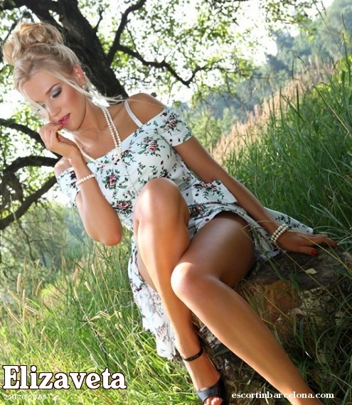 Elizaveta, Russian escort who offers massages in Barcelona