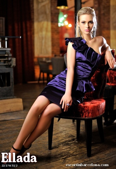 Ellada, Russian escort who offers massages in Barcelona