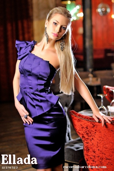 Ellada, Russian escort who offers dates in Barcelona