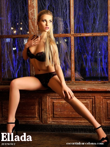 Ellada, Russian escort who offers girlfriend experience in Barcelona