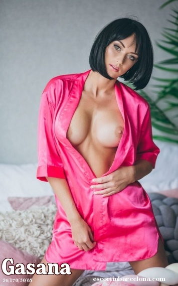 Gasana, Russian escort who offers oral job in Barcelona