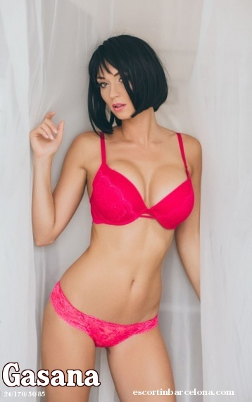 Gasana, Russian escort who offers girlfriend experience in Barcelona