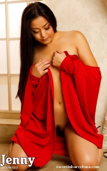 Jenny, Russian escort who offers company in Barcelona