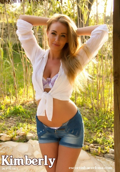 Kimberly, Russian escort who offers girlfriend experience in Barcelona