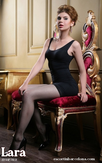 Lara, Russian escort who offers oral job in Barcelona