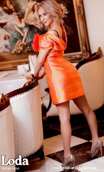 Loda, Russian escort who offers dates in Barcelona