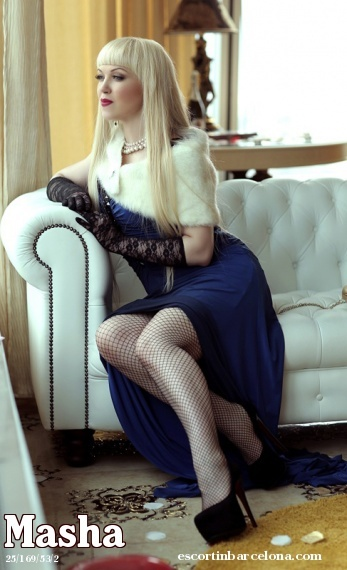 Masha, Russian escort who offers girlfriend experience in Barcelona