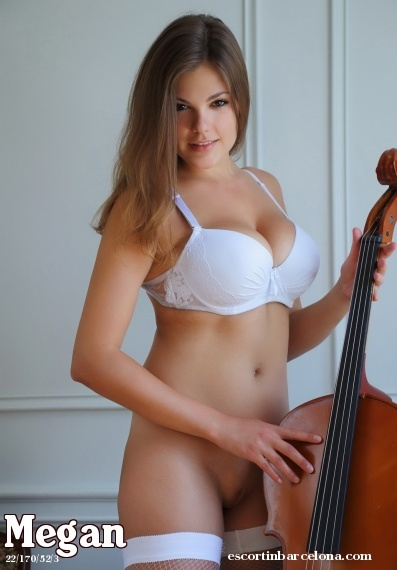 Megan, Russian escort who offers girlfriend experience in Barcelona