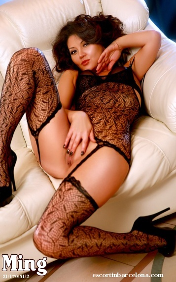 Ming, Russian escort who offers 69 in Barcelona
