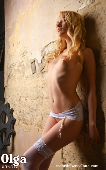 Olga, Russian escort who offers massages in Barcelona