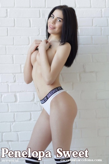 Penelopa Sweet escorts in Barcelona