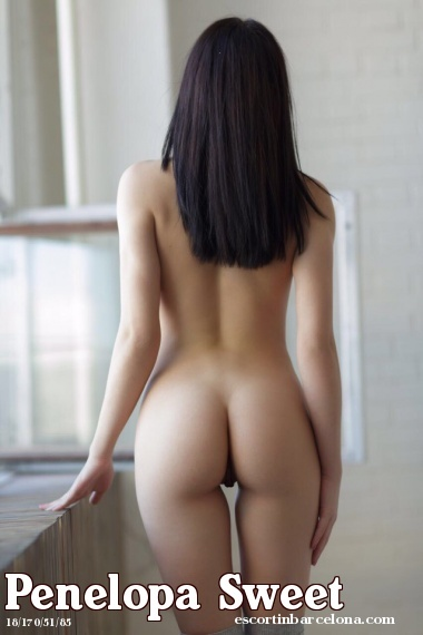 Penelopa Sweet, Russian escort who offers massages in Barcelona