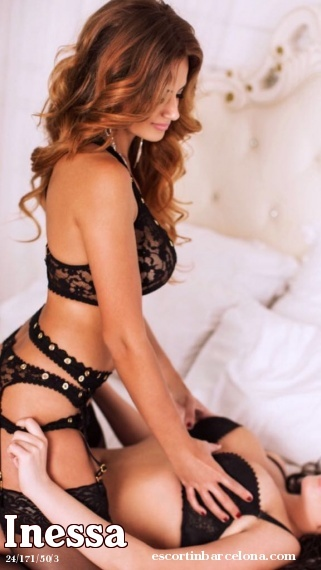 Inessa, Russian escort who offers company in Barcelona