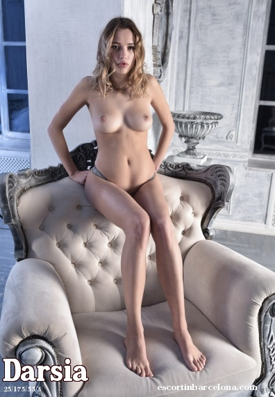 Darsia, Russian escort who offers company in Barcelona