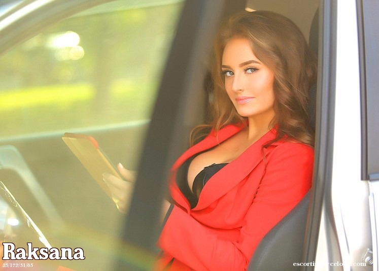 Raksana, Russian escort who offers massages in Barcelona
