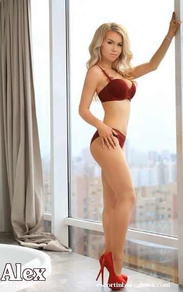 Alex, Russian escort who offers girlfriend experience in Barcelona