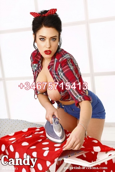 Candy, Russian escort who offers girlfriend experience in Barcelona