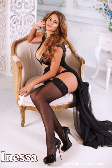 Inessa, Russian escort who offers massages in Barcelona