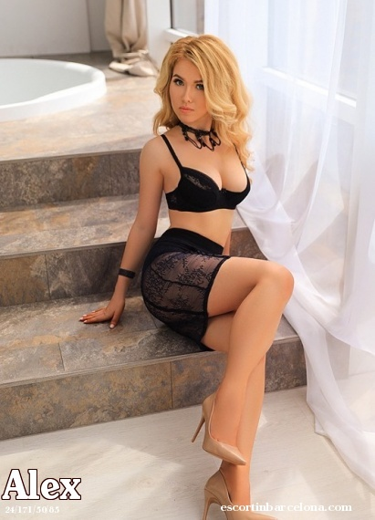 Alex, Russian escort who offers dates in Barcelona