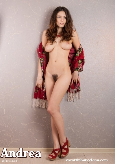 Andrea, Russian escort who offers 69 in Barcelona