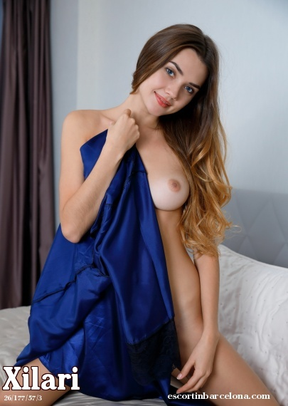 Xilari, Russian escort who offers company in Barcelona