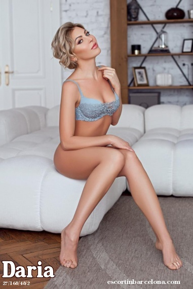 Daria, Russian escort who offers dates in Barcelona