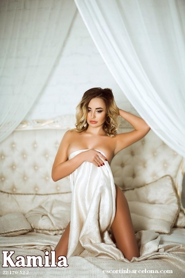 Kamila, Russian escort who offers dates in Barcelona