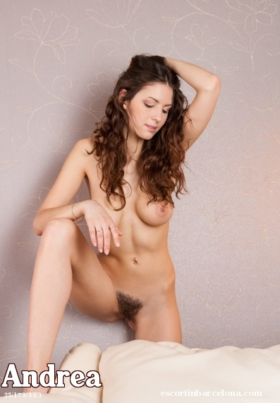 Andrea, Russian escort who offers company in Barcelona