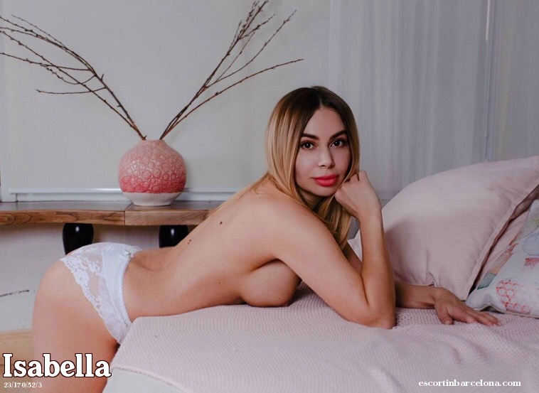 Isabella, Russian escort who offers company in Barcelona
