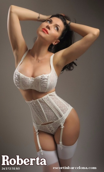 Roberta, Russian escort who offers dates in Barcelona