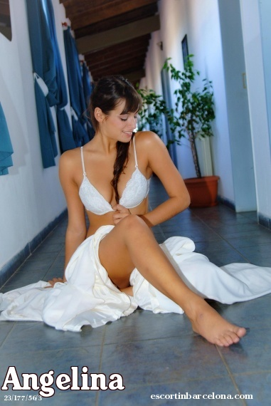 Angelina, Russian escort who offers girlfriend experience in Barcelona
