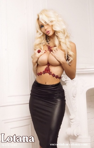 Lotana, Russian escort who offers massages in Barcelona